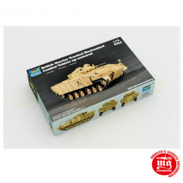 BRITISH WARRIOR TRACKED MECHANISED COMBAT VEHICLE UP ARMORED TRUMPETER 07102
