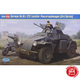 GERMAN Sd.Kfz.222 LEICHTER PANZERSPAHWAGEN 3rd SERIES HOBBY BOSS 83816