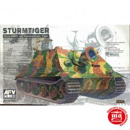STURMTIGER 38cm  RW61 AUF STURMMORSER TIGER AFV CLUB AF335103
