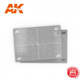 SCALE CUTTING MAT A4 AK8209-A4
