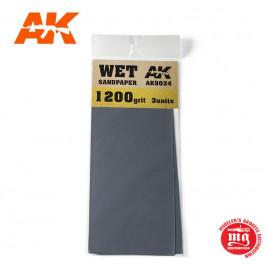 WET SANDPAPER 1200 AK9034