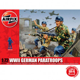 WWII GERMAN PARATROOPS AIRFIX A01753