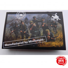 WWII GERMAN ARMY COMBAT TEAM ONE CAESAR MINIATURES HB06