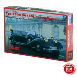 MERCEDES BENZ TYP 770K W150 TOURENWAGEN WWII GERMAN LEADER´S CAR ICM 35533