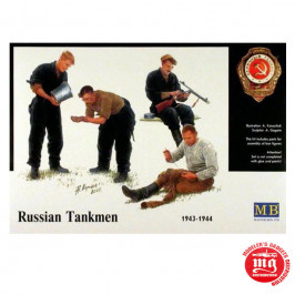 RUSSIAN TANKMEN 1943-1944 MASTER BOX MB 3535