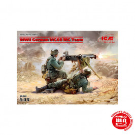 WWII GERMAN MG08 MG TEAM  ICM 35645