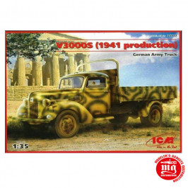 GERMAN ARMY TRUCK V3000S 1941 PRODUCTION ICM 35411