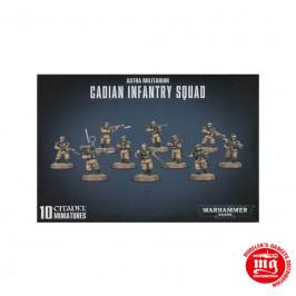 ASTRA MILITARUM CADIAN INFANTRY SQUAD WARHAMMER 40000 47-17