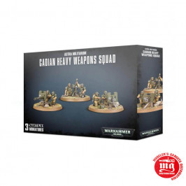 ASTRA MILITARUM CADIAN HEAVY WEAPONS SQUAD WARHAMMER 40000 47-19