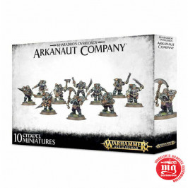 KHARADRON OVERLORDS ARKANAUT COMPANY WARHAMMER AGE OF SIGMAR 84-35