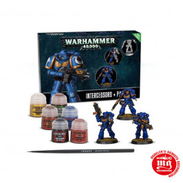 WARHAMMER 40000 INTERCESSORS AND PAINT SET WARHAMMER 40000  60-11-60