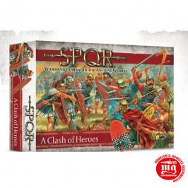 SPQR A CLASH OF HEROES STARTER SET WARLORD GAMES 151510001