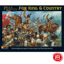 PIKE AND SHOTTE FOR KING AND COUNTRY STARTER SET WARLORD GAMES WGP-START-01