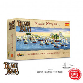 BLACK SEAS SPANISH NEVY FLEET 1770-1830 WARLORD GAMES 792013001