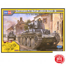 GERMAN Pz.Kpfw.38t Ausf.B WITH FULL INTERIOR HOBBY BOSS 80141