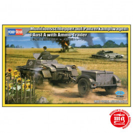 MUNITIONSSCHLEPPER AUF PANZERKAMPFWAGEN I AUSF A WITH AMMO TRAILER HOBBY BOSS 80146