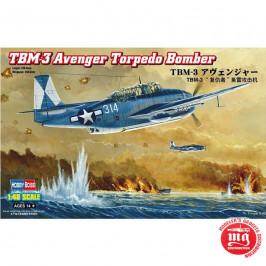TBM-3 AVENGER TORPEDO BOMBER HOBBY BOSS 80325