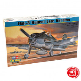 GRUMMAN F6F-3 HELLCAT LATE VERSION HOBBY BOSS 80359