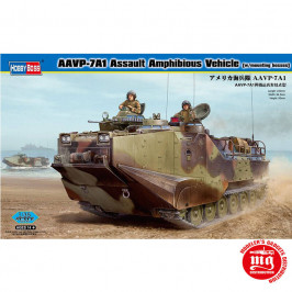 AAVP-7A1 ASSAULT AMPHIBIOUS VEHICLE WITH MOUNTING BOSSES HOBBY BOSS 82413