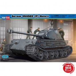 GERMAN VK4502 P HINTERN REARWARD TURRET VERSION HOBBY BOSS 82445
