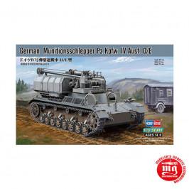 GERMAN MUNITIONSSCHLEPPER Pz.Kpfw.IV Ausf.D/E HOBBY BOSS 82907