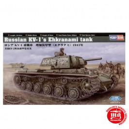 RUSSIAN KV-1 EHKRANAMI TANK HOBBY BOSS 84811 ESCALA 1:48