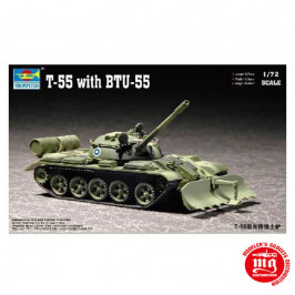 T-55 WITH BTU-55 TRUMPETER 07284