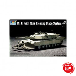 M1A1 WITH MINE CLEARING BLADE SYSTEM TRUMPETER 07277