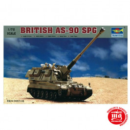 BRITISH AS-90 SPG TRUMPETER  07221