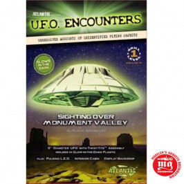 U.F.O. ENCOUNTERS SIGHTING OVER MONUMENT VALLEY ATLANTIS 1007G