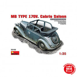 MB TYPE 170V CABRIO SALOON MINIART 35103