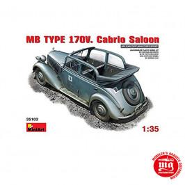 MB TYPE 170V CABRIO SALOON MINIART 35103