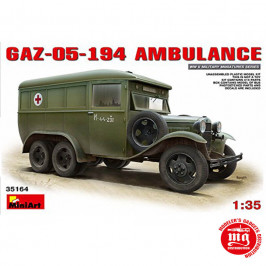 GAZ-05-194 AMBULANCE MINIART 35164