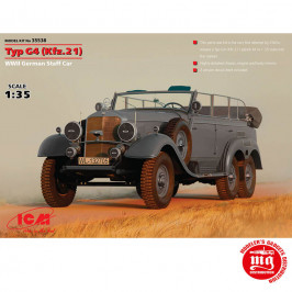 TYP G4 Kfz.21 WWII GERMAN STAFF CAR ICM 35538