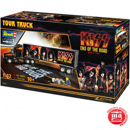KISS TOUR TRUCK REVELL 07644