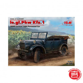 Ie.gl.Pkw Kfz.1 WWII GERMAN LIGHT PERSONNEL CAR ICM 35581