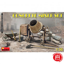 CONCRETE MIXER SET MINIART 35593