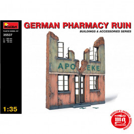 GERMAN PHARMACY RUIN  MINIART 35537