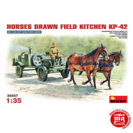 HORSES DRAWN FIELD KITCHEN KP-42 MINIART 35057