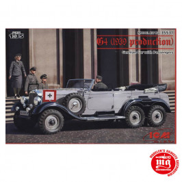 G4 1939 PRODUCTION GERMAN CAR WITH PASSENGERS ICM 35531