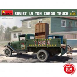 SOVIET 1.5 TON CARGO TRUCK MINIART 38013