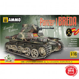 PANZER I Ausf.A BREDA SPANISH CIVIL WAR LIGHT TANK DESTROYER LIMITED EDITION AMMO A.MIG-8503