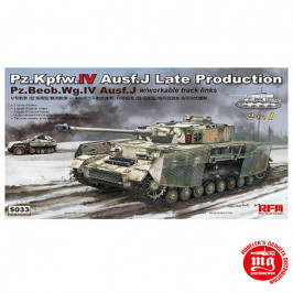 Pz.Kpfw.IV Ausf.J LATE PRODUCTION Pz. Beob.Wg.IV Ausf.J WITH WORKABLE TRACK LINKS 2 IN 1RFM 5033