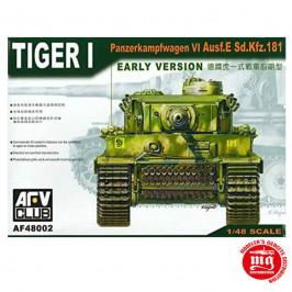 TIGER I PANZERKAMPFWAGEN VI Ausf.E Sd.Kfz.181 EARLY VERSION AFV CLUB AF48002