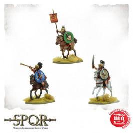 SPQR CAESAR'S LEGIONS ROMAN CAVALRY COMMAND WARLORD GAMES 152011006