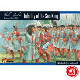 MARLBOROUGH'S WARS INFANTRY OF THE SUN KING WARLORD GAMES BLACK POWER 302015003