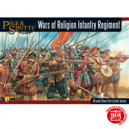 WARS OF RELIGION INFANTRY REGIMENT WARLORD GAMES PIKE AND SHOTTE WGP-19