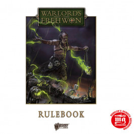 WARLORDS OF EREHWON RULEBOOK WARLORD GAMES 691010001