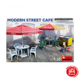 MODERN STREET CAFE MINIART 35610