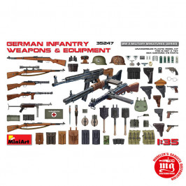 GERMAN INFANTRY WEAPONS AND EQUIPMENT WWII MINIART 35247